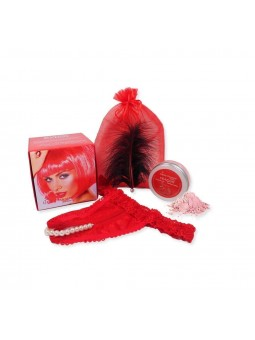 Kit 4 Piezas Red Passion Candy Rojo