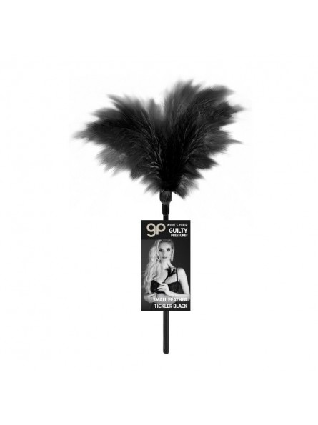 Plumero Gp Small Feather Tickler Negro 32 Cm