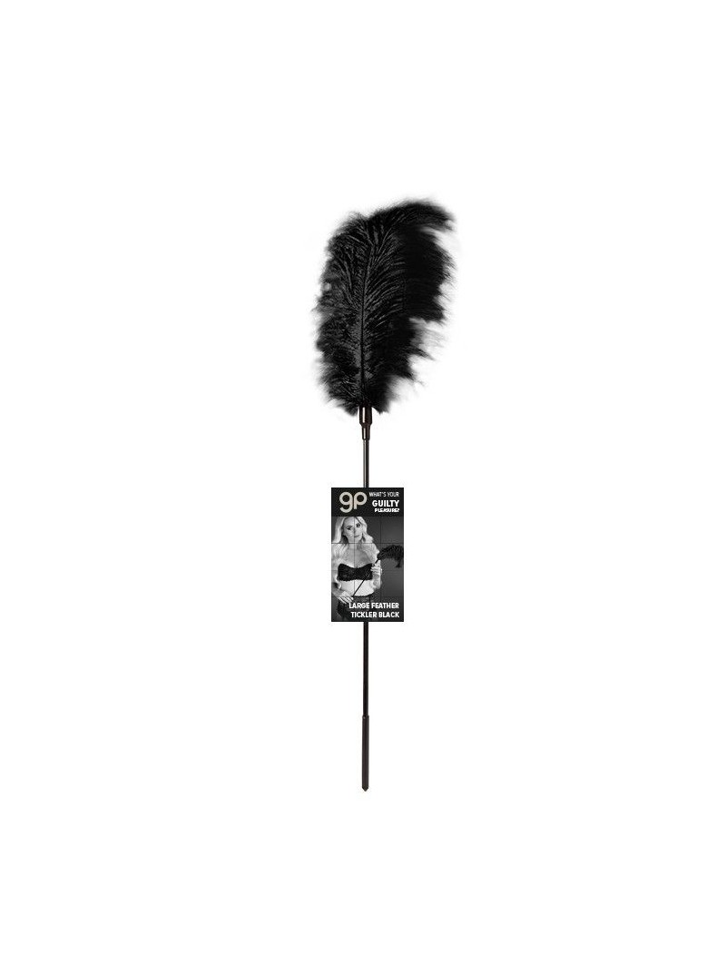 Plumero Gp Largo Feather Tickler Negro 65 Cm
