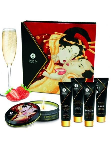 Kit Shunga Geishas Secret Collection Strawberry