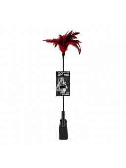 Fusta Con Plumero Gp Feather Crop Rojo 52 Cm